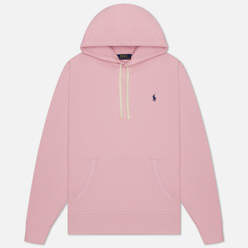 Мужская толстовка Polo Ralph Lauren Embroidered Pony Fleece Hoodie Garden Pink/Navy