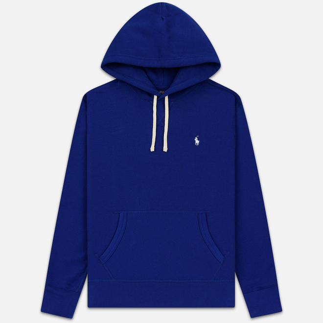 Мужская толстовка Polo Ralph Lauren Embroidered Pony Fleece Hoodie Heritage Royal