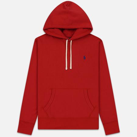 Мужская толстовка Polo Ralph Lauren Embroidered Pony Fleece Hoodie Polo Sport Red