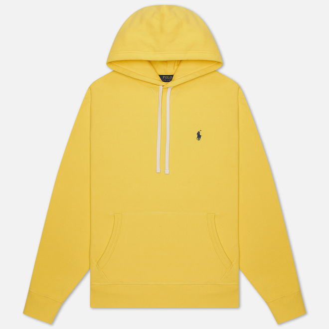Мужская толстовка Polo Ralph Lauren Embroidered Pony Fleece Hoodie Sunfish Yellow