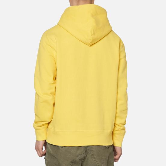 Мужская толстовка Polo Ralph Lauren Embroidered Pony Fleece Hoodie Sunfish Yellow