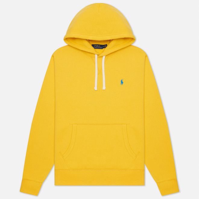 Мужская толстовка Polo Ralph Lauren Embroidered Pony Fleece Hoodie Yellowfin