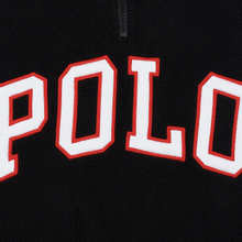 Мужская толстовка Polo Ralph Lauren Embroidery Flag Patch U.S.A. Half-Zip Black фото- 3