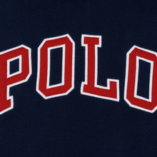Мужская толстовка Polo Ralph Lauren Embroidery Flag Patch U.S.A. Hoodie Cruise Navy фото- 2