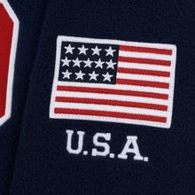 Мужская толстовка Polo Ralph Lauren Embroidery Flag Patch U.S.A. Hoodie Cruise Navy фото- 4