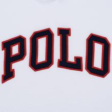 Мужская толстовка Polo Ralph Lauren Embroidery Flag Patch U.S.A. Hoodie White фото- 2