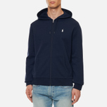 Мужская толстовка Polo Ralph Lauren Full Zip Hoodie Aviator Navy фото- 2
