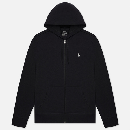 Мужская толстовка Polo Ralph Lauren Full Zip Hoodie Black