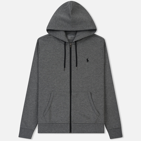 Мужская толстовка Polo Ralph Lauren Full Zip Hoodie Foster Grey Heather
