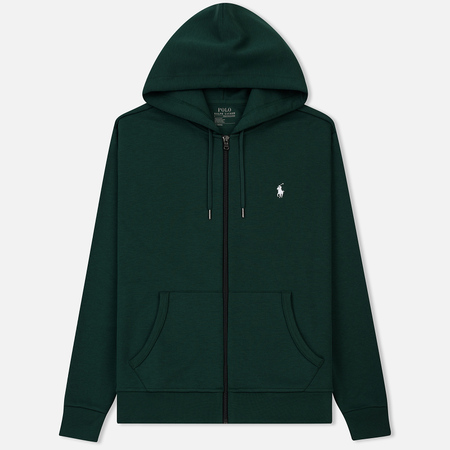 Мужская толстовка Polo Ralph Lauren Full Zip Hoodie Green