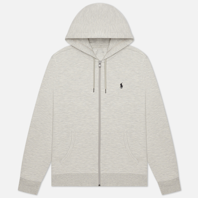 Мужская толстовка Polo Ralph Lauren Full Zip Hoodie Light Sport Heather