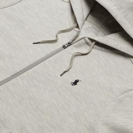 Мужская толстовка Polo Ralph Lauren Full Zip Hoodie Light Sport Heather
