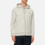 Мужская толстовка Polo Ralph Lauren Full Zip Hoodie Light Sport Heather фото- 2