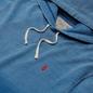 Мужская толстовка Polo Ralph Lauren Garment Dyed Fleece Hoodie Dip Dye Indigo фото - 1