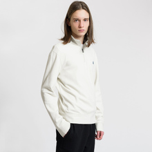 Мужская толстовка Polo Ralph Lauren Half Zip Double Knit Jersey Chic Cream фото- 1