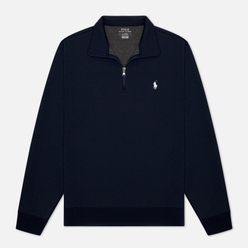 Мужская толстовка Polo Ralph Lauren Half Zip Double Knit Tech Aviator Navy/White