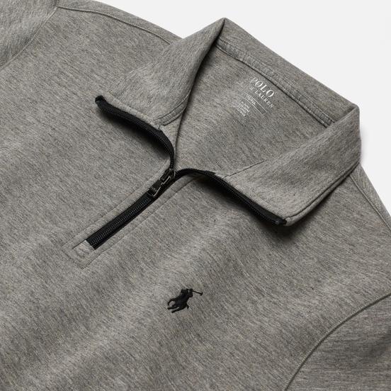Мужская толстовка Polo Ralph Lauren Half Zip Double Knit Tech Battalion Heather