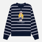 Мужская толстовка Polo Ralph Lauren Iconic Polo Bear Sporting CP-93 Stripe Cruise Navy/White фото - 0