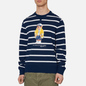 Мужская толстовка Polo Ralph Lauren Iconic Polo Bear Sporting CP-93 Stripe Cruise Navy/White фото - 2