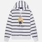 Мужская толстовка Polo Ralph Lauren Iconic Polo Bear Sporting CP-93 Stripe Hoodie White/Cruise Navy фото - 0