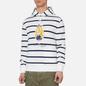 Мужская толстовка Polo Ralph Lauren Iconic Polo Bear Sporting CP-93 Stripe Hoodie White/Cruise Navy фото - 2