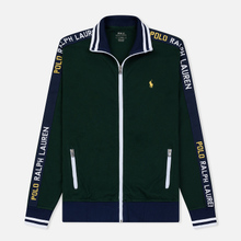 Мужская толстовка Polo Ralph Lauren Interlock Full Zip College Green фото- 0