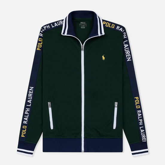 Мужская толстовка Polo Ralph Lauren Interlock Full Zip College Green