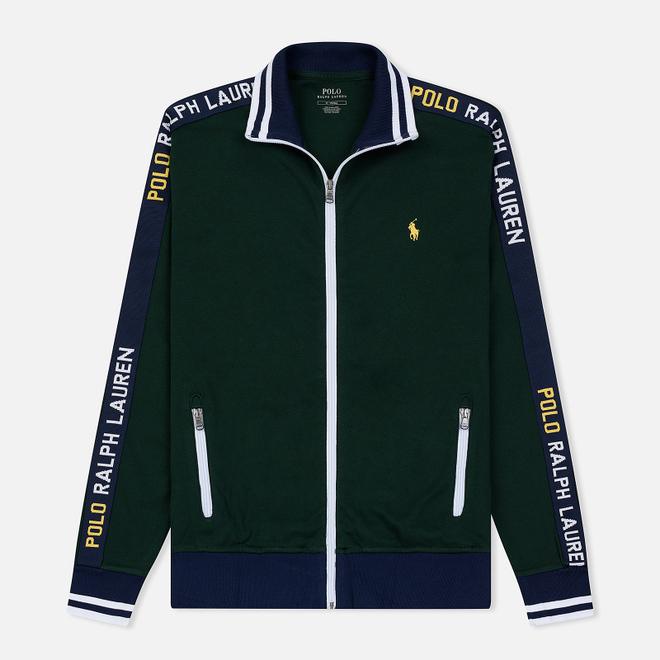 Мужская толстовка Polo Ralph Lauren Interlock Full Zip College Green