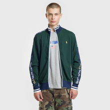 Мужская толстовка Polo Ralph Lauren Interlock Full Zip College Green фото- 1