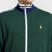 Мужская толстовка Polo Ralph Lauren Interlock Full Zip College Green фото- 2