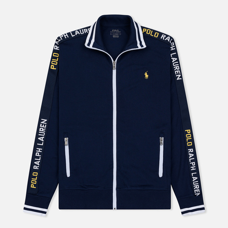 Мужская толстовка Polo Ralph Lauren Interlock Full Zip French Navy