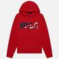 Мужская толстовка Polo Ralph Lauren Logo Americana Inspired Hoodie Red фото - 0