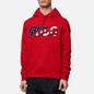 Мужская толстовка Polo Ralph Lauren Logo Americana Inspired Hoodie Red фото - 2