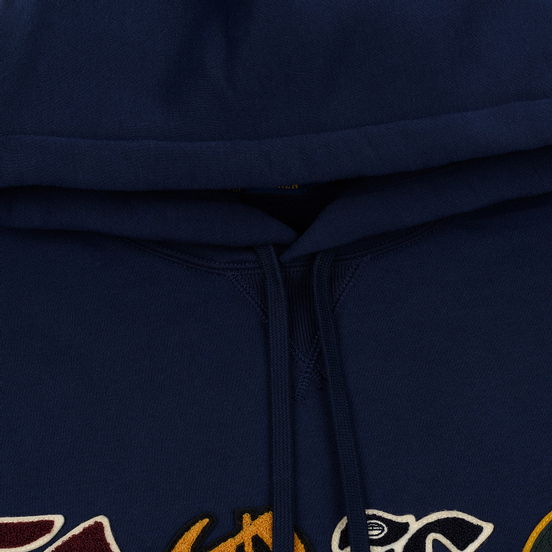 Мужская толстовка Polo Ralph Lauren Patches Heraldic Letters Polo Hoodie Cruise Navy