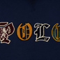 Мужская толстовка Polo Ralph Lauren Patches Heraldic Letters Polo Hoodie Cruise Navy фото - 2