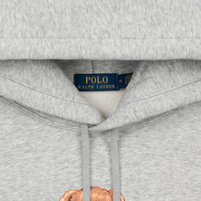 Мужская толстовка Polo Ralph Lauren Polo Bear Logo Hoodie Magic Fleece Andover Heather фото- 1