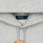 Мужская толстовка Polo Ralph Lauren Polo Bear Logo Hoodie Magic Fleece Andover Heather фото - 1