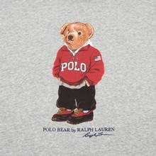 Мужская толстовка Polo Ralph Lauren Polo Bear Logo Hoodie Magic Fleece Andover Heather фото- 2