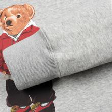 Мужская толстовка Polo Ralph Lauren Polo Bear Logo Hoodie Magic Fleece Andover Heather фото- 3