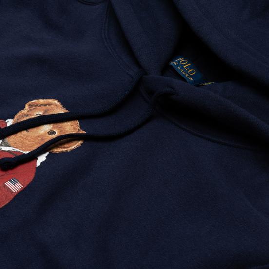 Мужская толстовка Polo Ralph Lauren Polo Bear Logo Hoodie Magic Fleece Cruise Navy