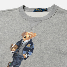 Мужская толстовка Polo Ralph Lauren Bear Ready Play Football In Polo Style Andover Heather фото- 1