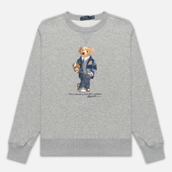 Мужская толстовка Polo Ralph Lauren Bear Ready Play Football In Polo Style Andover Heather