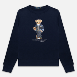 Мужская толстовка Polo Ralph Lauren Bear Ready Play Football In Polo Style Cruise Navy
