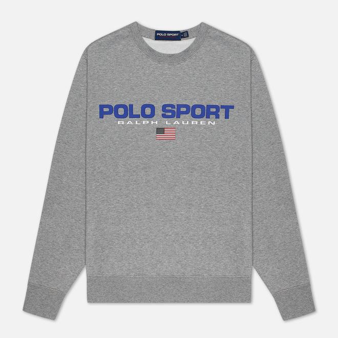 Мужская толстовка Polo Ralph Lauren Polo Sport Crew Neck Neon Fleece Andover Heather