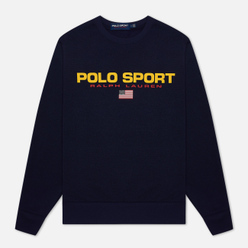 Мужская толстовка Polo Ralph Lauren Polo Sport Crew Neck Neon Fleece Cruise Navy