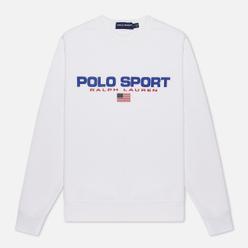 Мужская толстовка Polo Ralph Lauren Polo Sport Crew Neck Neon Fleece White