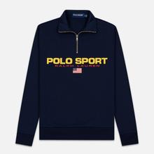 Мужская толстовка Polo Ralph Lauren Polo Sport Half Zip Cruise Navy фото- 0