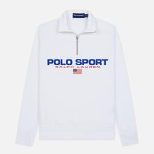 Мужская толстовка Polo Ralph Lauren Polo Sport Half Zip White фото- 0