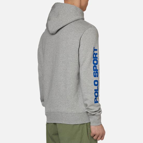 Мужская толстовка Polo Ralph Lauren Polo Sport Hoodie Neon Fleece Andover Heather