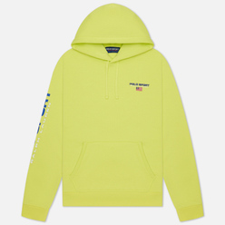 Мужская толстовка Polo Ralph Lauren Polo Sport Neon Fleece Hoodie Bright Pear